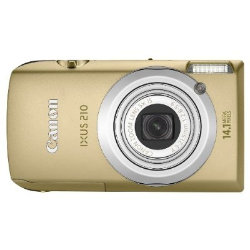 Canon Ixus 210 Digital Camera - Gold