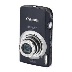 Canon Ixus 210 Digital Camera - Black