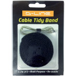 D Line Cable Tidy Band Black 20 x 1200 mm