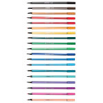 Stabilo Pen 68 Felt Tip Twister Pack of 19