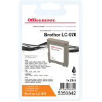 Office Depot Compatible Brother LC970B Ink Cartridge Black