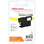 Office Depot Compatible for Brother LC980 Yellow Ink Cartridge LC 980YL