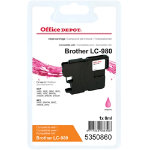 Office Depot Compatible for Brother LC980 Magenta Ink Cartridge LC 980MG