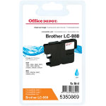 Office Depot Compatible for Brother LC980 Cyan Ink Cartridge LC 980CY