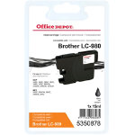 Office Depot Compatible Brother LC980B Ink Cartridge Black