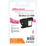 Office Depot Compatible Brother LC1100MA Ink Cartridge Magenta