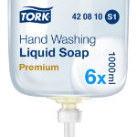 Premium Liquid Soap Extra Hygiene 1 Litre Pack of 6