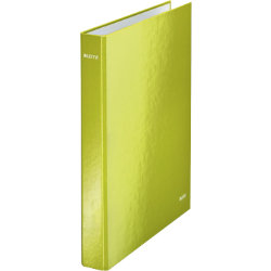 Leitz Wow 2 D Ring Ringbinder A4 25mm Green