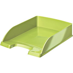 LEITZ WOW Plus letter tray A4 green