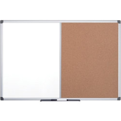 Office Depot Cork/Magnetic Whiteboards Aluminium Frame 900H x 1200Wmm