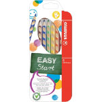 Stabilo Easy Colours Colouring Pencils Left Hand Pack of 6