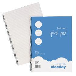 niceday A4 60gsm 50 sheet Ruled Notebook (5pk)