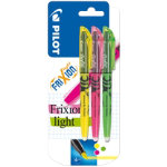 Pilot Frixion Highlighters Assorted Pack of 3