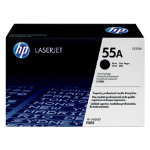 Original HP CE255A HP No 85A black laser toner cartridge HP No 55A