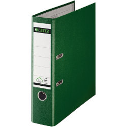 Leitz 180 Degree Lever Arch File Green