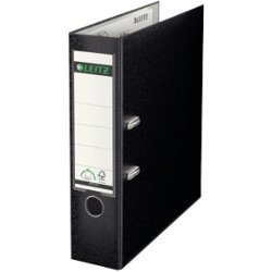 Leitz 180 Degree Lever Arch File Black