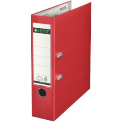 Leitz 180 Degree Lever Arch File Red