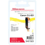 Office Depot Compatible for Canon CLI 521 Yellow Ink Cartridge CLI 521Y
