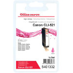 Office Depot Compatible for Canon CLI 521 Magenta Ink Cartridge CLI 521M