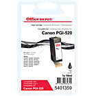 Office Depot Compatible for Canon PGI 520 Black Ink Cartridge PGI 520BK