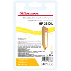 Office Depot Compatible for HP 364XL Yellow Ink Cartridge CN687EE