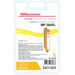 Office Depot compatible HP CB325EE XL yellow ink cartridge