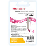 Office Depot compatible HP CB324EE XL magenta ink cartridge