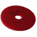 3M Floor Pads 17 Red Pack of 5