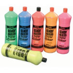 Ocaldo Fluorescent Ready Mixed Poster Colour Paint 6 pk