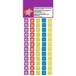 Motivation Mini Stickers Smiling Stars Pack of 180