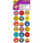Motivation Stars and Smiles Stickers 180 Stickers per Pack