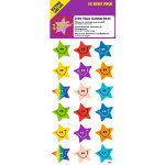 Motivation Stars Stickers 180 Stickers per Pack