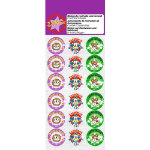 Motivation What a Star Stickers Sparkling 36 Stickers per Pack