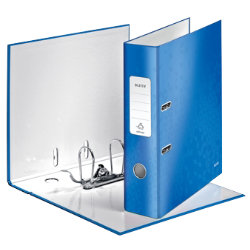 Leitz Wow 180° Lever Arch File A4 80mm Blue