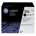 HP 55X Original Toner Cartridge CE255XD Black 2 pieces