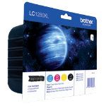 Brother LC1280XL Black and Colour Inkjet Multipack