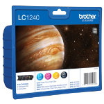 Brother LC1240 Black and Colour Inkjet Multipack