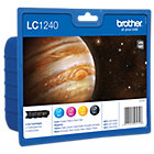 Brother LC1240VALBP Original Black 3 Colours Ink Cartridge