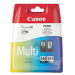 Canon PG 540 CL 541 Black and Colour Inkjet Multipack