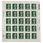 Royal Mail 2 pence stamps pack of 25