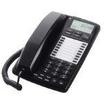 Doro Aub 300I Corded Black Business Telephone