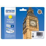 Epson T7034 Original Yellow Ink Cartridge C13T70344010