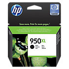 Original HP No950XL high capacity black printer ink cartridge CN045A