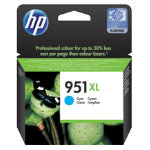 HP 951XL Original Cyan Ink Cartridge CN046AE
