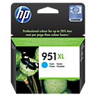 Original HP No951XL high capacity cyan printer ink cartridge CN046A