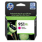 Original HP No951XL high capacity magenta printer ink cartridge CN047A