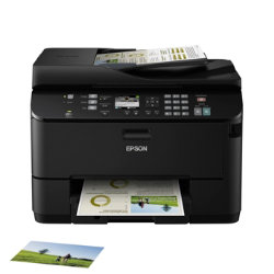 Epson WorkForce Pro WP-4535DWF A4 Multifunction Inkjet Printer