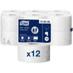 Box 12 Tork Advanced Mini Jumbo Toilet Roll