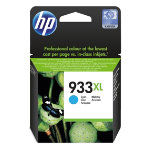 Original HP No933XL high capacity cyan printer ink cartridge CN054AE