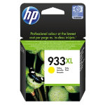 Original HP No933XL high capacity yellow printer ink cartridge CN056AE